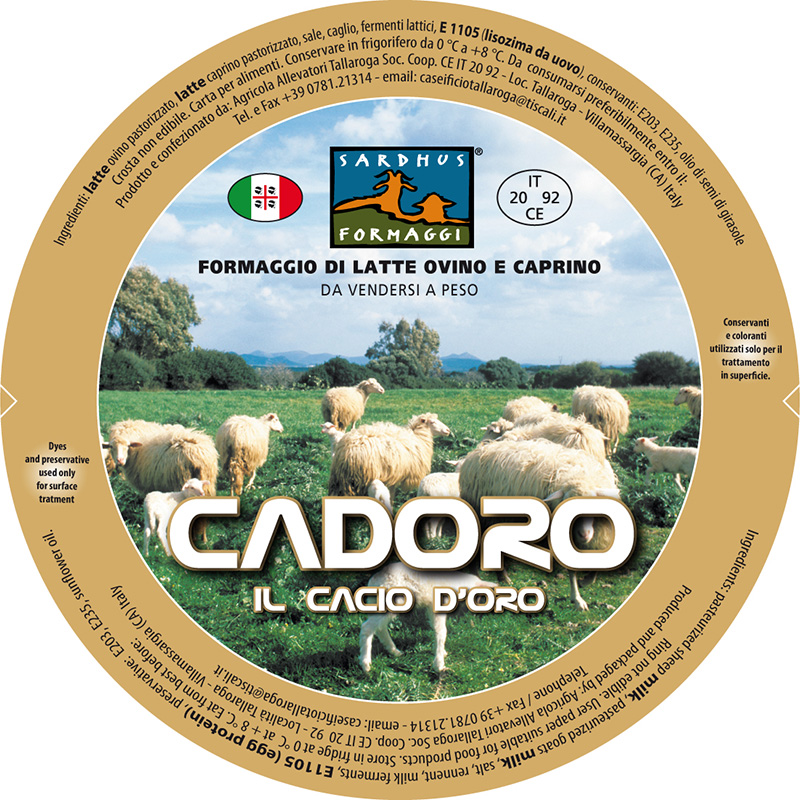 Cadoro new senza comservante